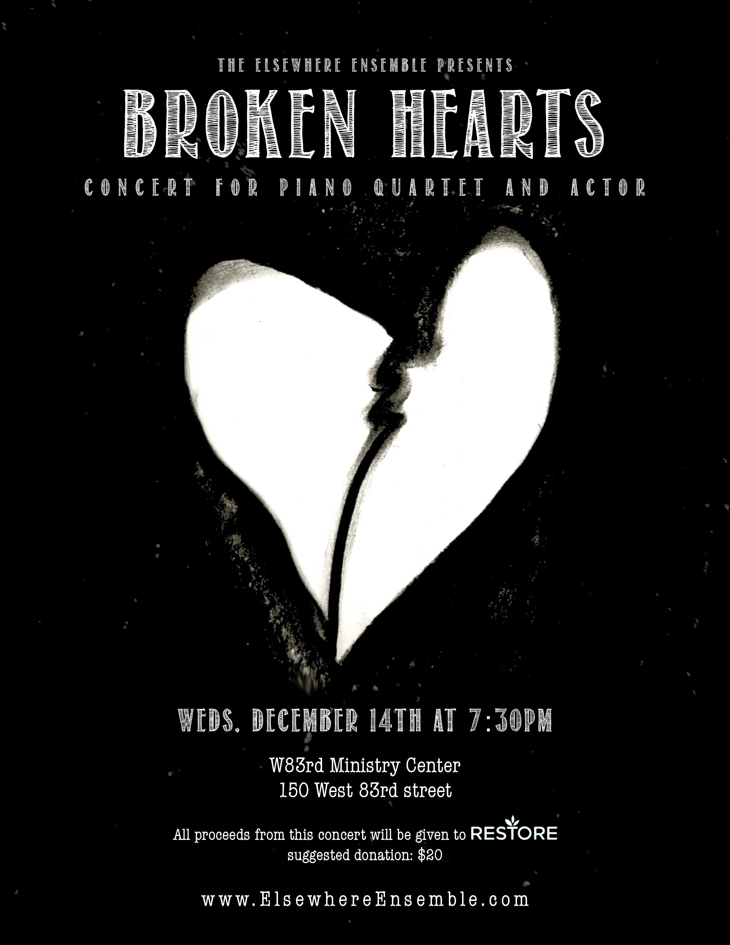 Broken Hearts flyer 1