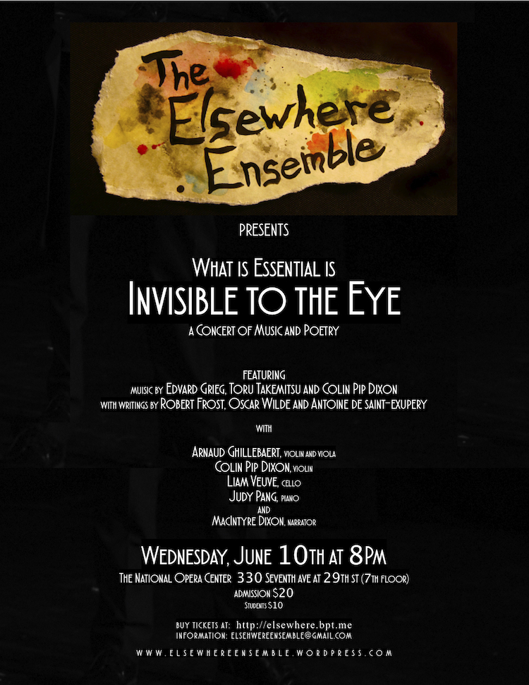 Elsewhere Ensemble Concert June 2015