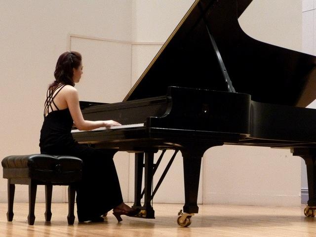Judy Pang in recital